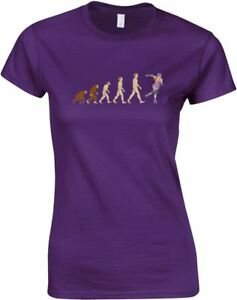 Evolution-of-Roller-Derby-Design-Printed-Ladies-T-Shirt-Women-Round-Neck-Tee-Top