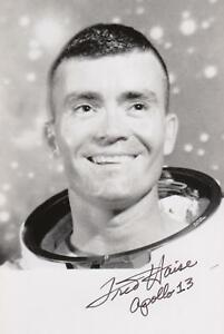 "FRED W:HAISE --- ""Apollo 13"" - original signiert - A8#12"