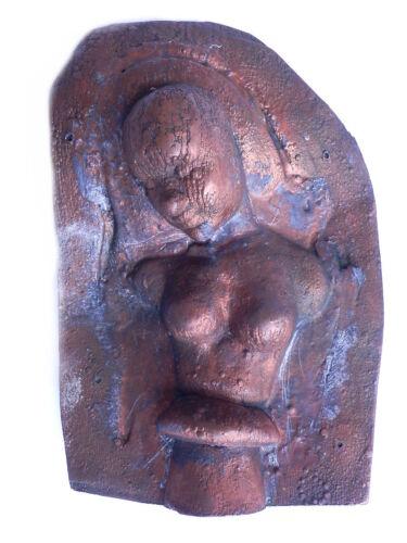 Industrie Style - Gußform Anfang 1900 aus Kupfer für Wachspuppen Frauen Torso