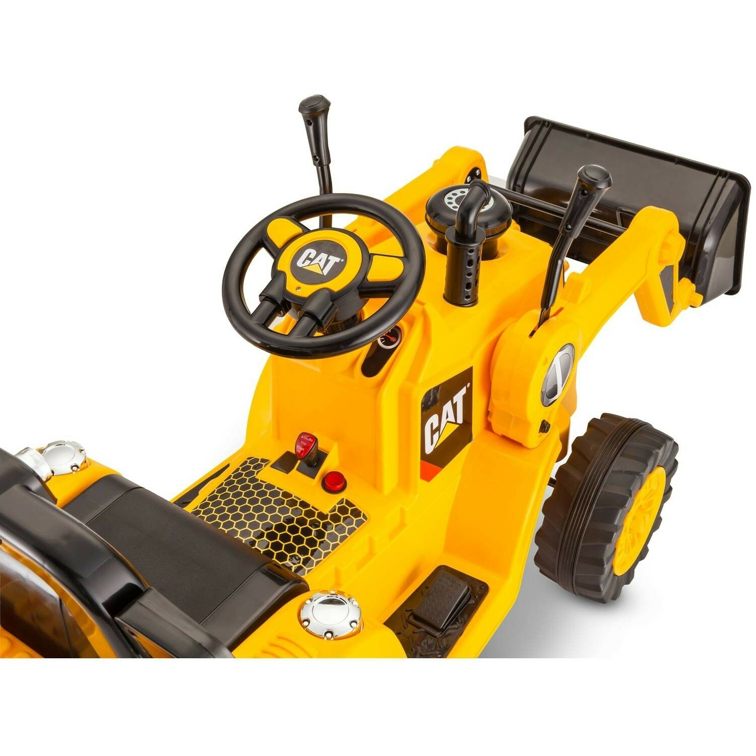 CAT Bulldozer Tractor Kids Boys Pretend Play Play Play Riding Toys 6v Powered Ride-On 9f2c1f