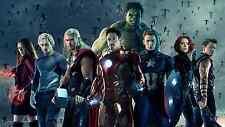 Poster 42x24 cm Vengadores Avengers 2 Capitan America Hulk Iron Man Thor 02