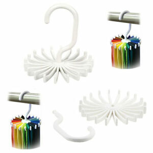 360° Organizer Cleaner Adjustable Belt Scarf Hanger Tie Holder Ties Hook Rack