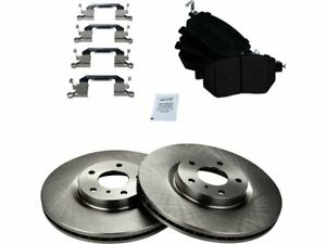 2005 2006 2007 for Nissan Murano Coated Disc Brake Rotors and Ceramic Pads Front