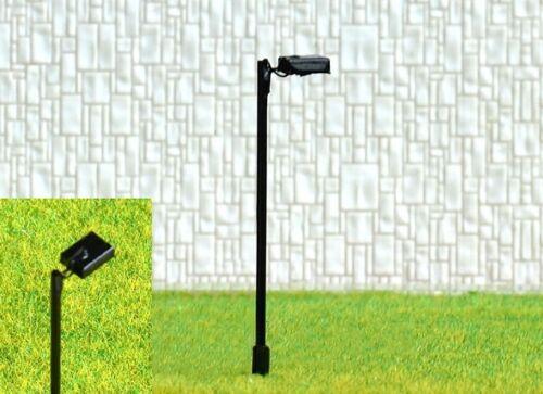 S204-10 Stück Straßenlampen mit LED 1-flammig 5,5cm Set Lampen für Bahnsteig