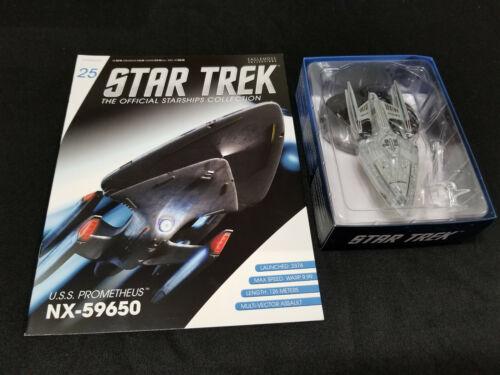 Eaglemoss Star Trek Diecast model #1-59 w magazine Spaceships Starships Official