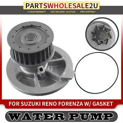 New Water Pump W// Gasket Fits 2004-2008 Suzuki Forenza Reno 2.0L DOHC 16v AW6116