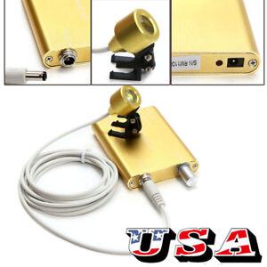 Sale 20 99 Portable Led Head Light Lamp Yellow Battery