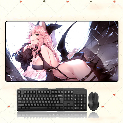 Fate//Grand Order Tamamo no mae Mouse Pad Game Play Mat Mousepad Gifts#1101