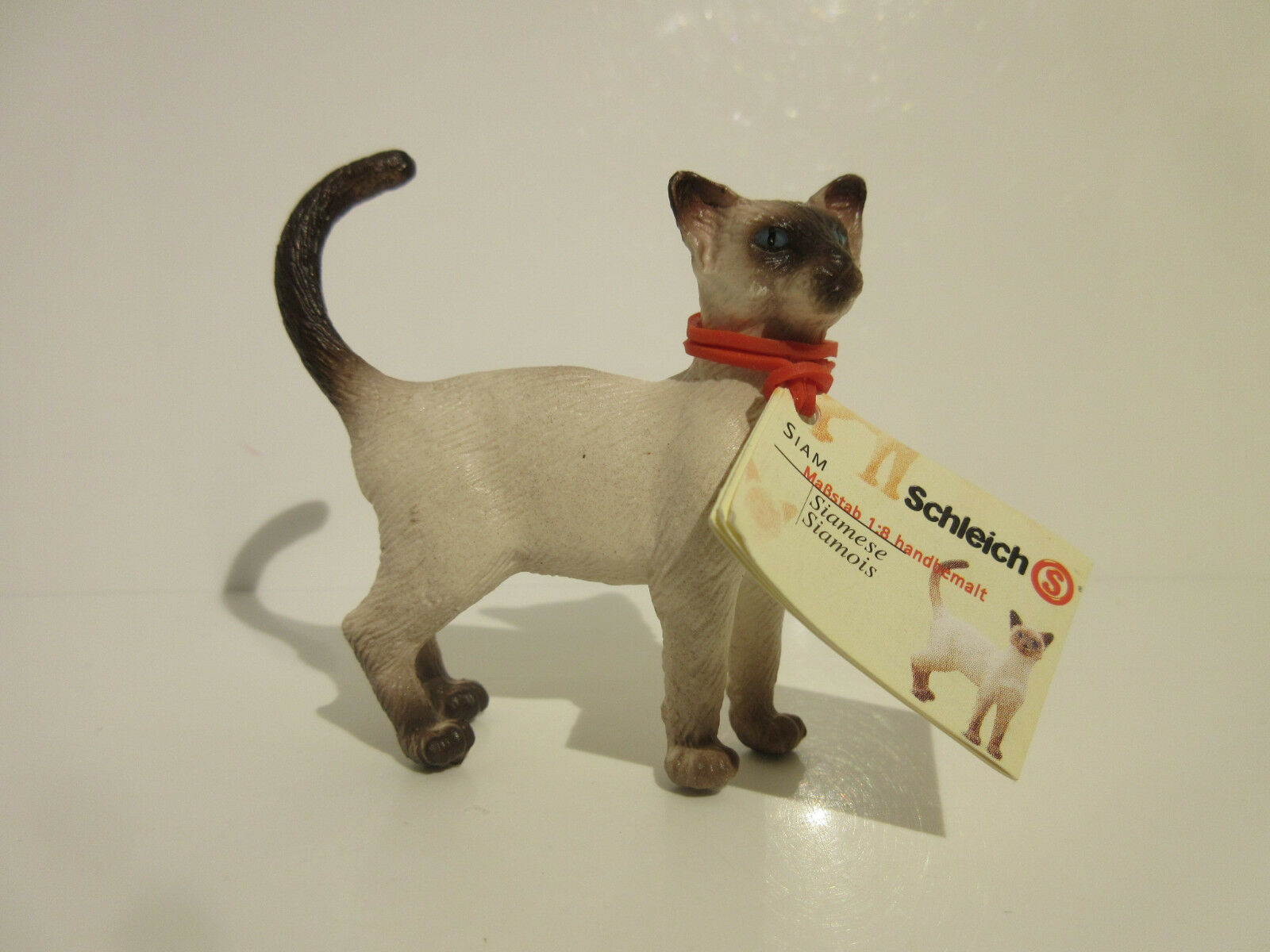 16653 Schleich Cat  Siamese Cat ref 21P47