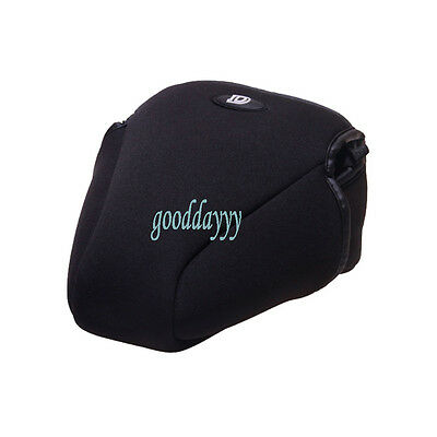 L Soft Camera Case Bag Pouch Protector Cover for Nikon D90 D7000 D80 18-105 lens