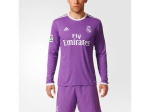 competitive price 1650d 677fb Details about Adidas Real Madrid Junior Kids Away Kit 2016-2017, Shirt &  Shorts, 11-12 Years