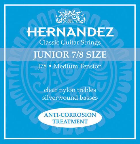 Hernandez Saiten für Konzertgitarre oder Kindergitarre CarbonTitanium Nylon