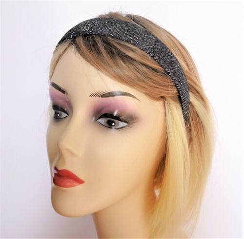 Gorgeous glittery Headband Alice Band 2.5 cms wide metallic Colours