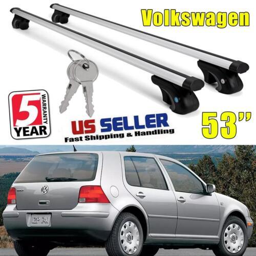 for V W Land Rover Nissan Roof Top Rail Rack Cross Bars Cargo Carrier Crossbar