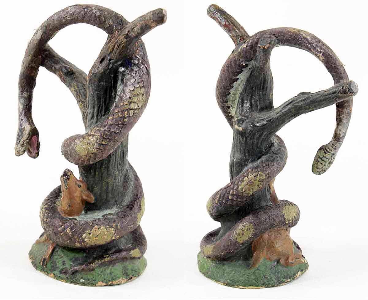 figurine ELASTOLIN BOA et CHEVREUIL  /  jouet jouet jouet ancien c74af0
