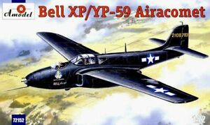 Amodel-72152-Bell-XP-YP-59-Airacomet-USAF-Fighter-1-72-scale-plastic-model-kit