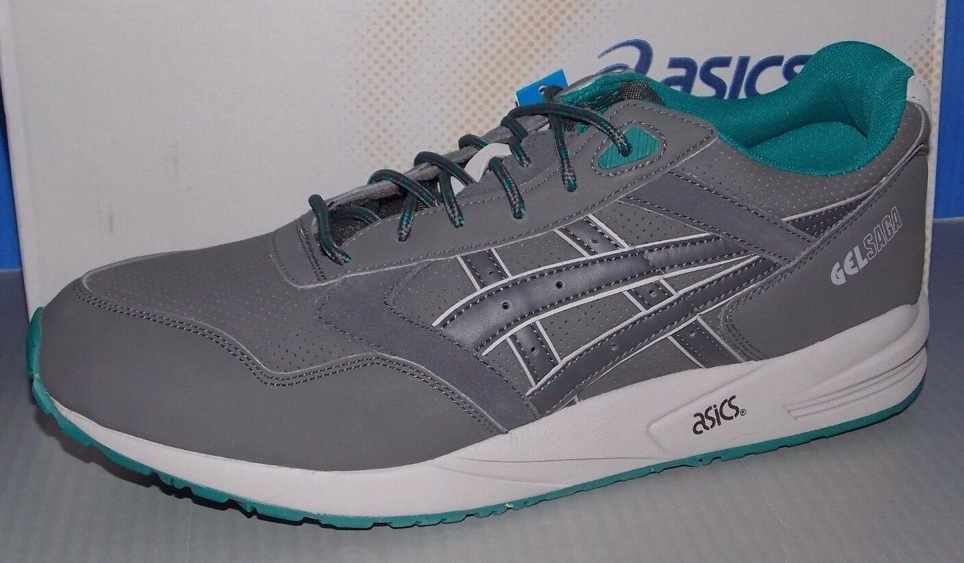 Uomo ASICS GEL SAGA  in colors DARK GREY / DARK GREY SIZE 11