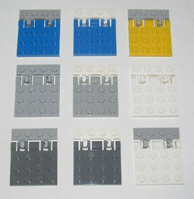 Lego ® Plaque Charnière Toit Avion 4x4 Hinge Plate Choose Color ref 4847