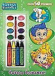 Bubble Bonanza! (Bubble Guppies) (Color and Paint plus Stickers), Golden Books