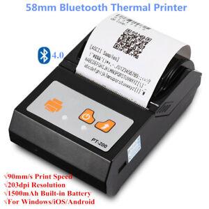 Portable-Mini-58mm-Bluetooth-Thermal-Receipt-Printer-For-Windows-Android-EU-Plug