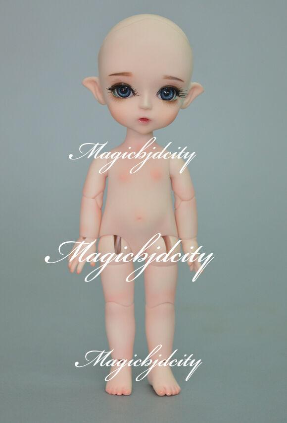 BJD Muñeca 1 8 Laches (2 piezas de mano adicional) ojos Gratis + Maquillaje de Cara