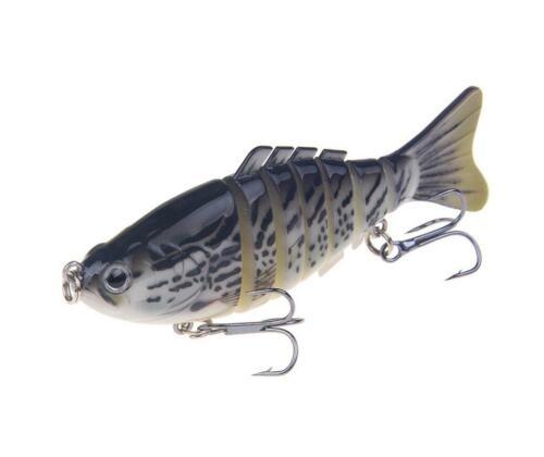 6 8 13 Segment Multi Jointed Fishing Lures Minnow Crank Baits Bass Swimbait
