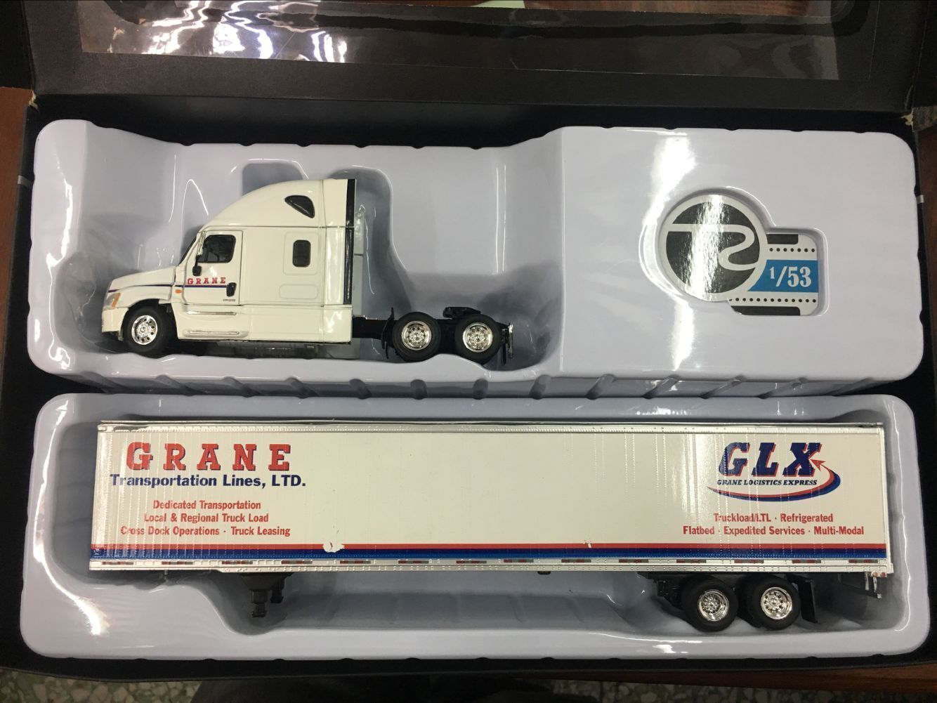 Tonkin Replicas Diecast camion de collection modèle GLX grane Express échelle 1 53