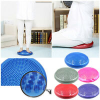 Stability Disc Yoga Balance Pad Cushion For Ankle Knee Board With Pump 2 Surface