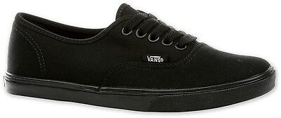 VANS NV-0GYQBKA Women Authentic LO PRO Black / Black All Sizes Brand New