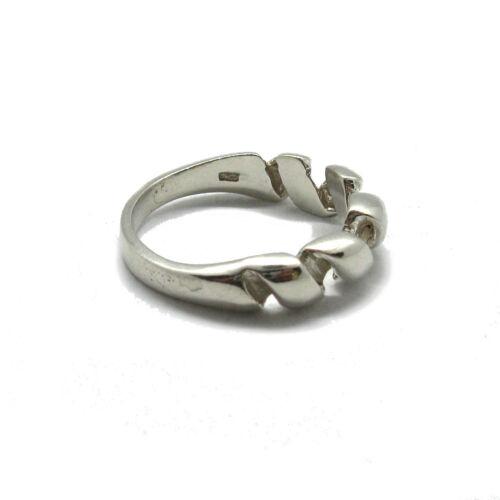Genuine Sterling Silver Men Ring Solid Hallmarked 925 Empress