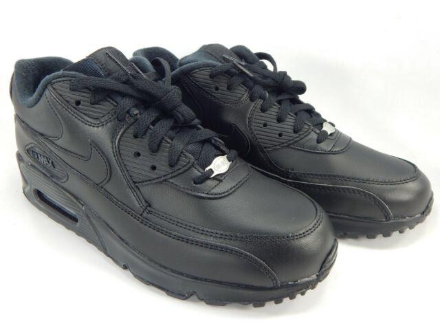 Nike Air Max 90 Men's Running Shoes - Black, EUR 43 (302519-001 ...