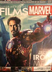 Tony Stark pilote de course figurine super héros films marvel n65 Fascicule Neuf