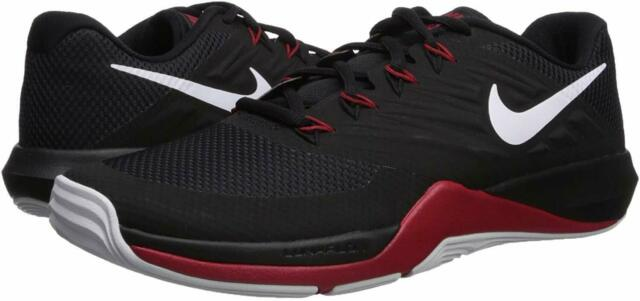 superficie El cuarto silbar  Nike Mens Lunar Prime Iron II Sneaker 908969-006 Black/white Gym-red Size  10 for sale online | eBay