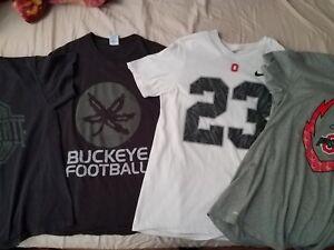 9edc863c Image is loading Lot-of-4-mens-Ohio-State-buckeyes-t-