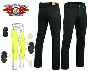Australian-Bikers-gear-Motorcycle-Trousers-Slim-Stretch-Jeans-Lined-with-Kevlar