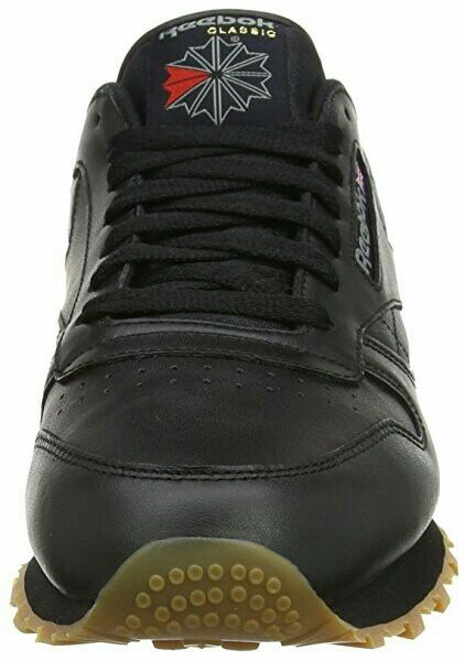 Zapatos de mujer baratos zapatos de mujer Zapatillas Reebok-Clásico de Cuero Negro Talla 5/5.5/6.5/7/7.5/8