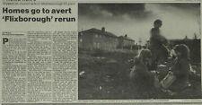 Grangetown North Estate Demolished ICI Wilton Plant 1990 Newspaper Article 6088