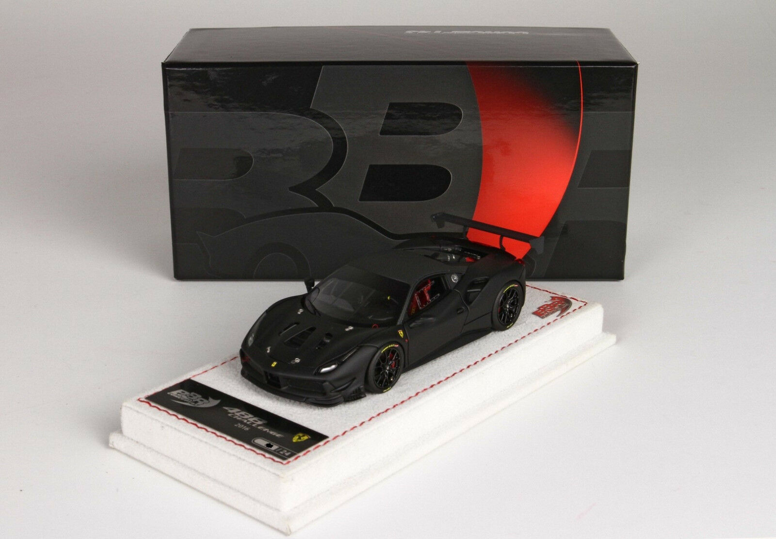 Ferrari 488 Challenge 2016 noir opaco 1 43 BBRC197DCF