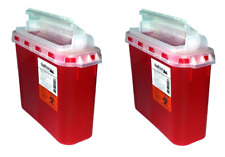 Bd 54 Qt Stye Sharps Disposal Container 2 Pack By Oakridge Products Touch