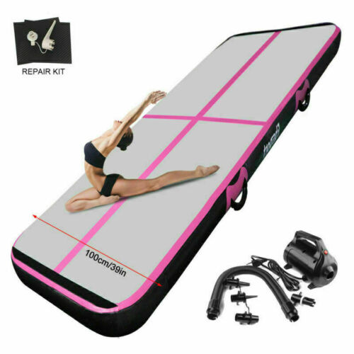 Pump Fbsport Gym Mat Air Track Tumbling Inflatable Gym Mat