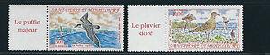 San-Pierre-et-Miquelon-Spm-1993-Acqua-Uccelli-Pulcinella-di-Mare-Plover-Sc