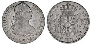 8 Argent Reals - 8 Reals Argent Charles IV - Carlos IV Potosi 1808. VF QGGwDQhJ-07134217-151053708