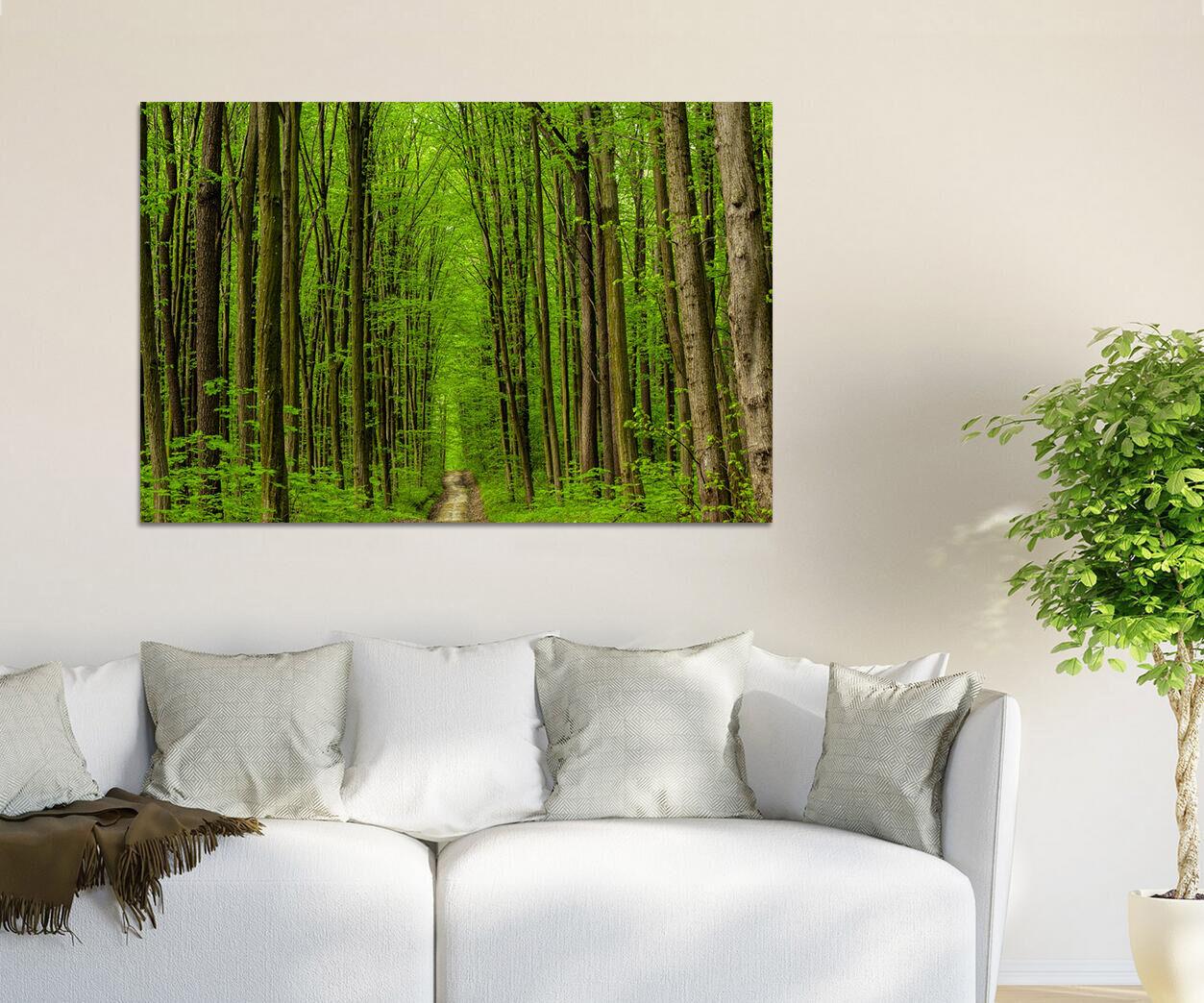 3D  Frühling Grün Holz 8655  Fototapeten Wandbild BildTapete AJSTORE DE Lemon