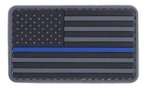 AC-110P-Lancer-Tactical-Blaue-Linie-USA-Flagge-PVC-Patch