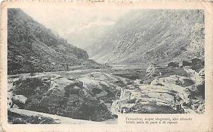 Cartolina-Postcard-panorama-di-vallata-poesia-1917