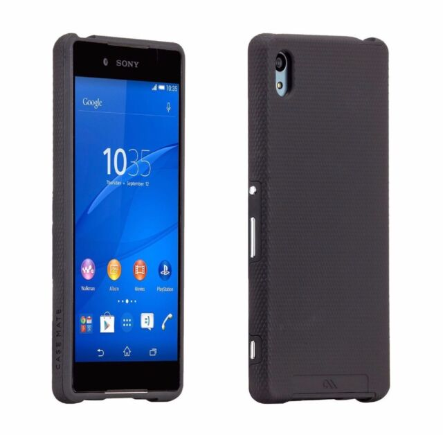separation shoes 0704f 843aa Case-Mate Tough Case Protective Cover for Sony Xperia Z3 in Black CM032671