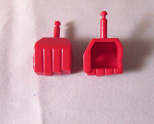 Transformers Diaclone Red DEVASTATOR Fists Hand cast Reproduction