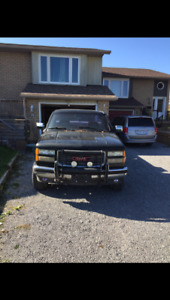 92 GMC Sierra  $2500 obo or trade