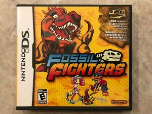 Fossil-Fighters-Nintendo-DS-Complete-w-Case-amp-Manual
