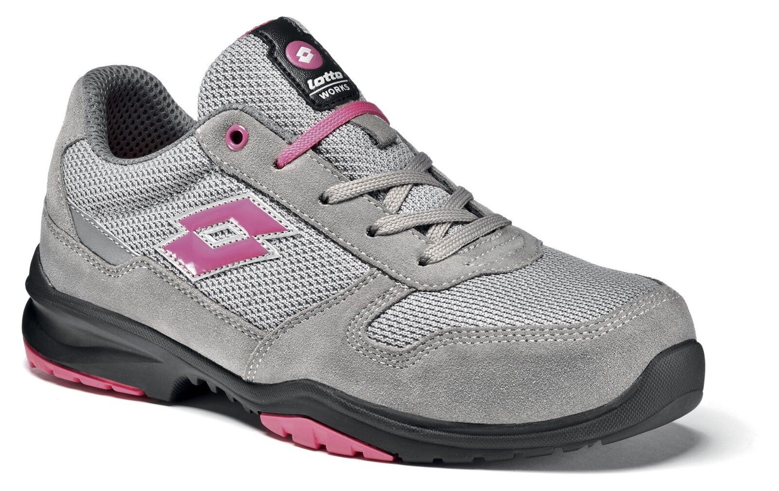 zapatos LAVoro ANTINFORTUNISTICHE LOTTO WORKS FLEX EVO 500 S1205 mujer S1P mujer S1205 OFFERT 9623d8